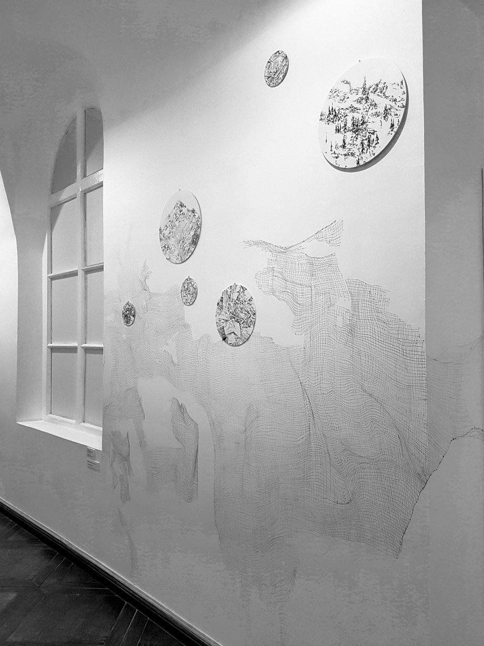 """Dream Catcher"" Moscow Museum Of Art Hallway. 2017"