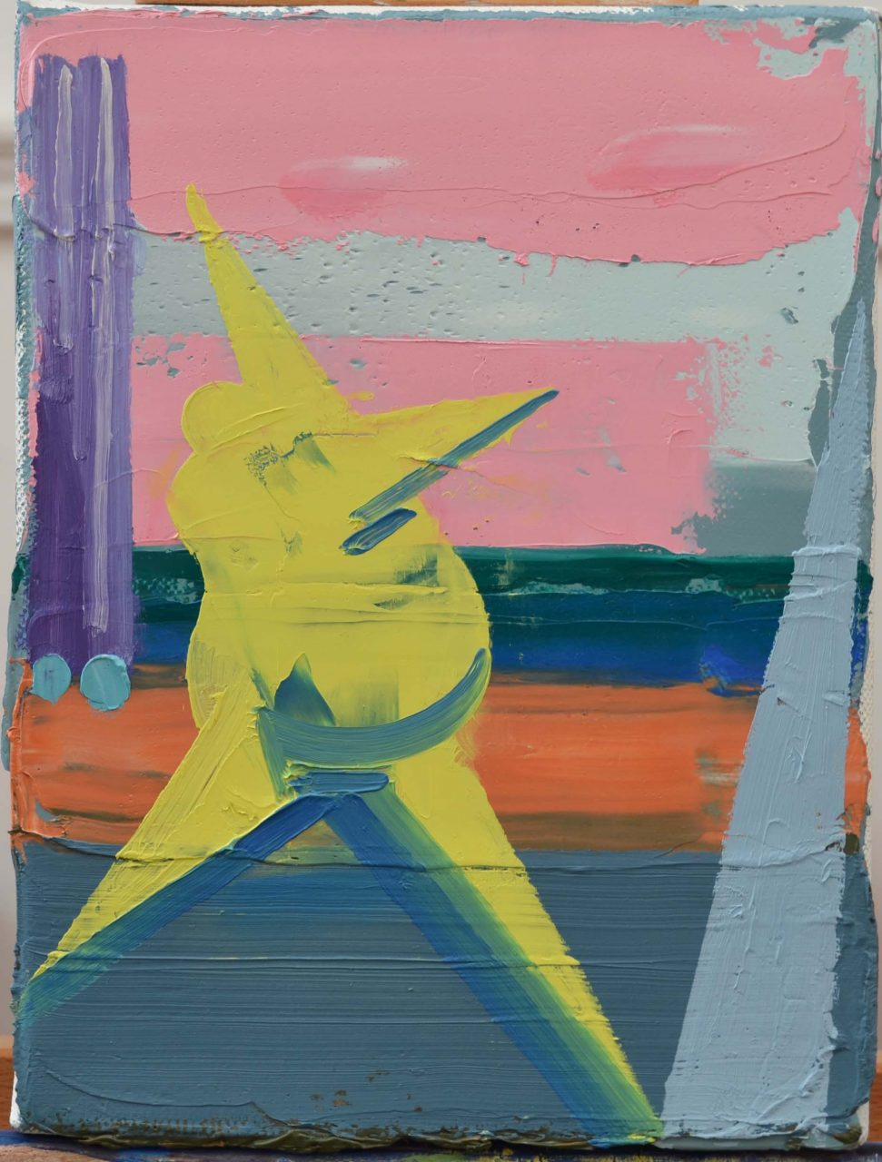 Star, 2017. Oil on canvas, 18x24cm