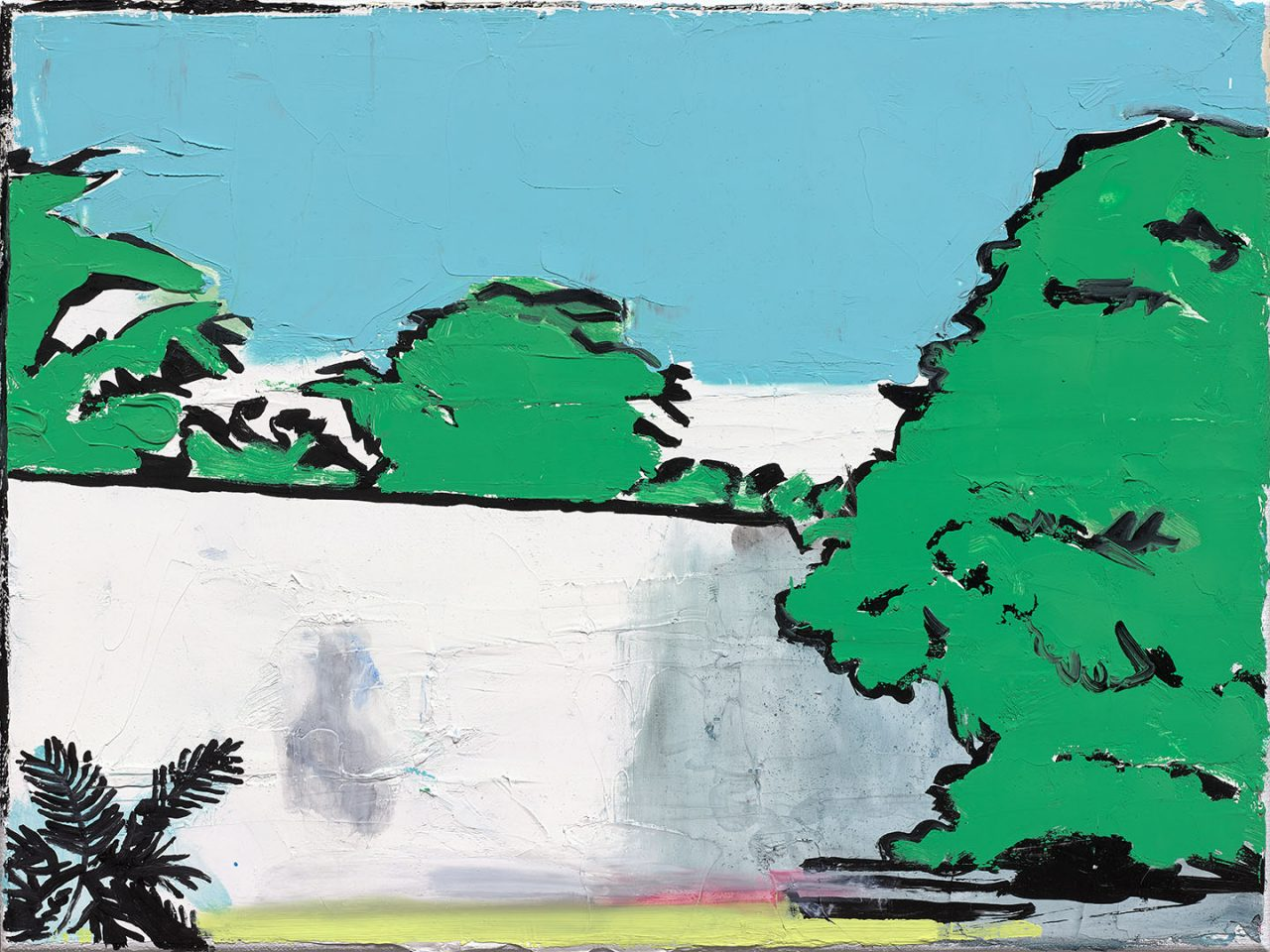 van Gogh series nr1, 2017. Oil on linen, size, 30x40cm