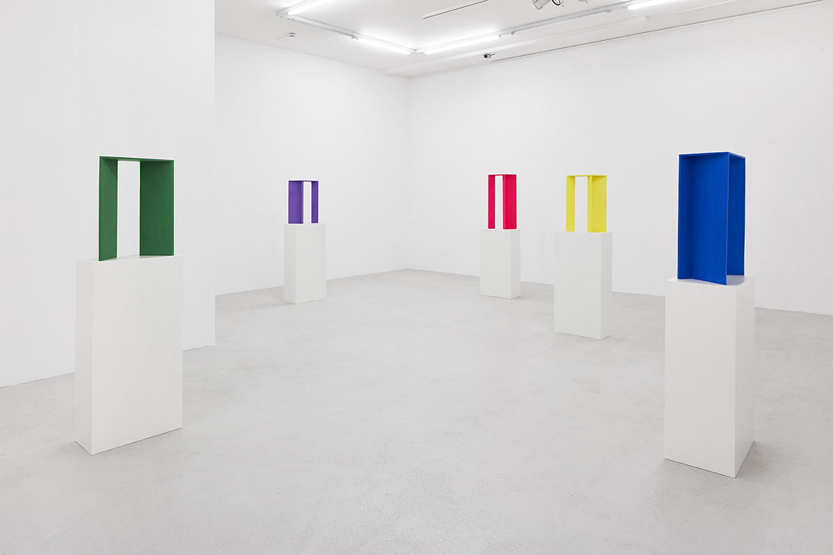 BB 105 /146, 2017, exhibition view @ Galerie Lange + Pult, Zurich