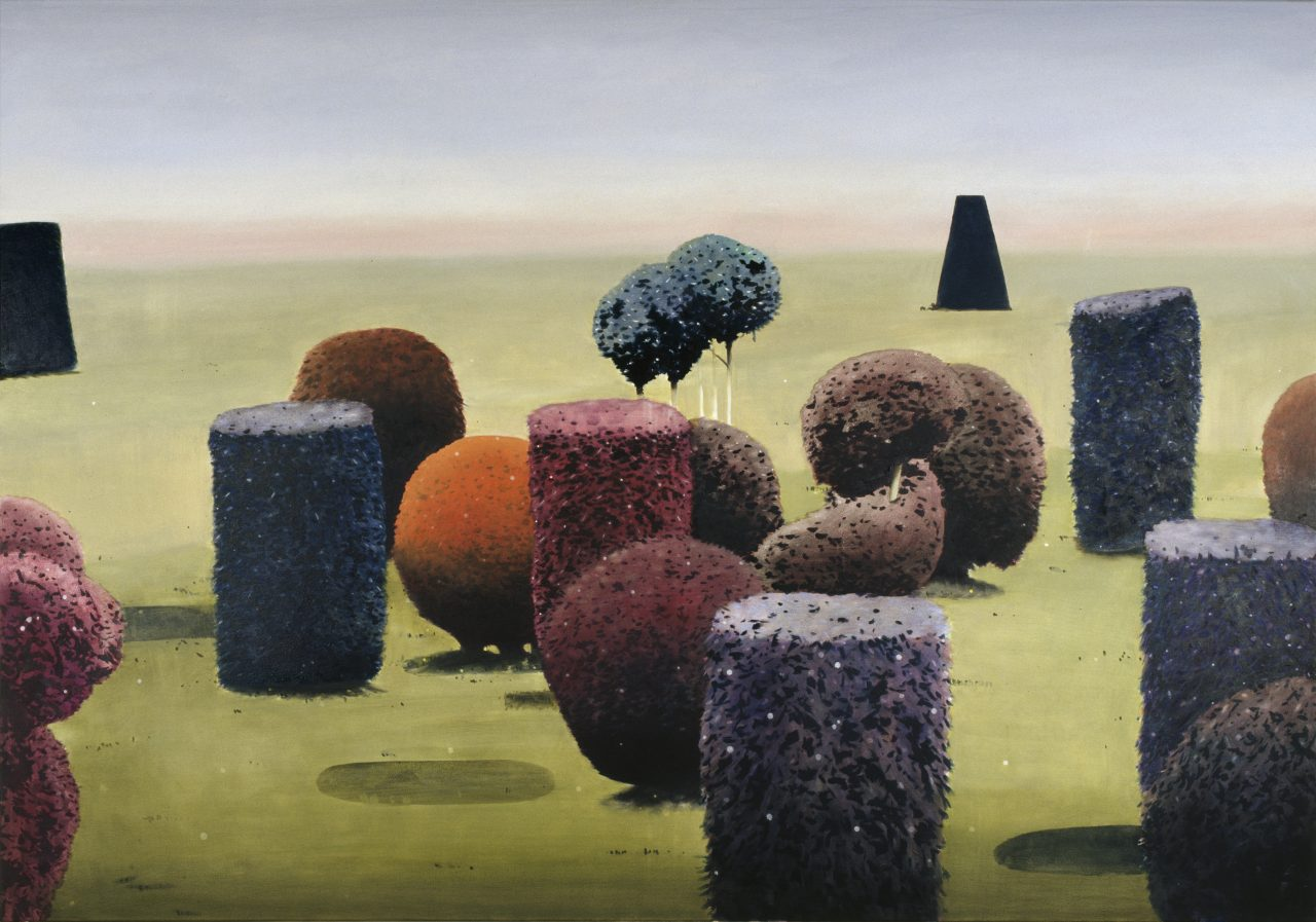 Monty Python #3, 2006, Oil on canvas, 130 x 190 cm, Private collection