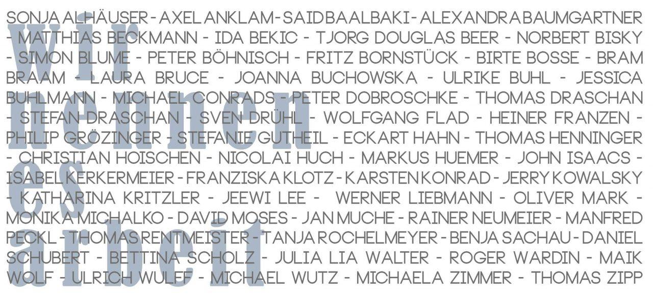 Opere Scelte Gallery from Torino shows Berlin Artists .............. Hoischen / Mark........