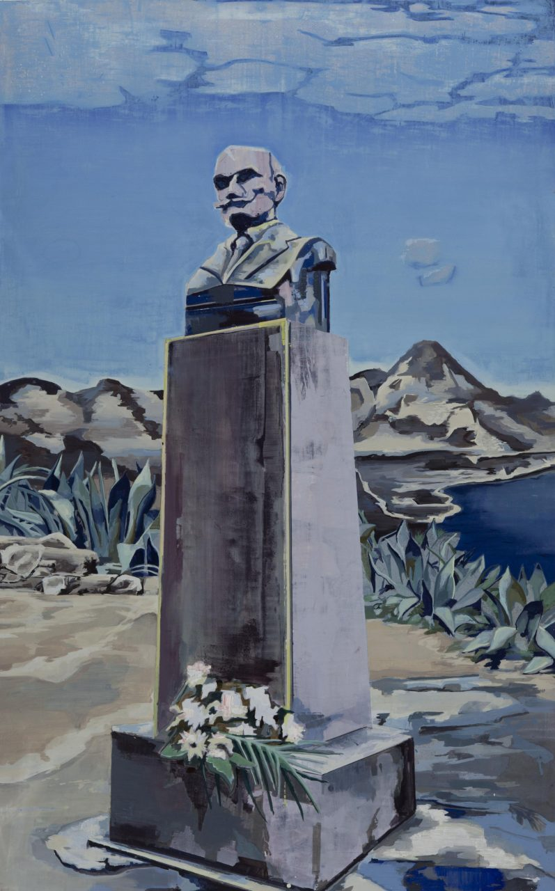 Okzident, 210 x 130cm, Öl auf Leinwand 2016