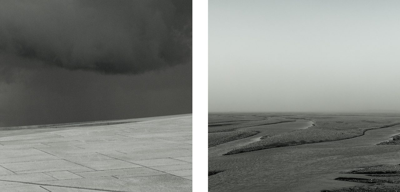 #1 from the series Void (diptych)