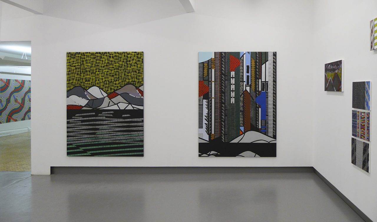 dudokdegroot galerie, Amsterdam : on the right: Anuli Croon 'new city landscapes' _ on the left Michiel Schuurman