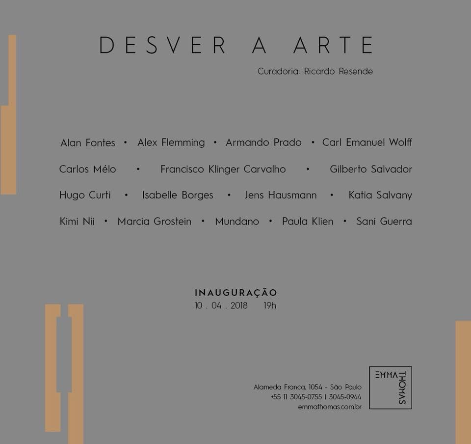 DESVER A ARTE