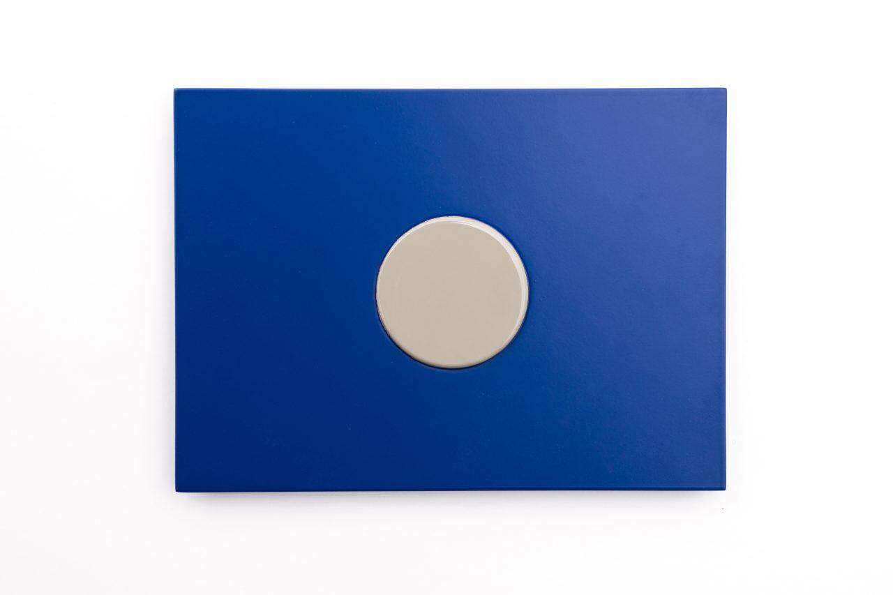 signal flag I relief series I wood, paint I 22 x 30 x 2 cm