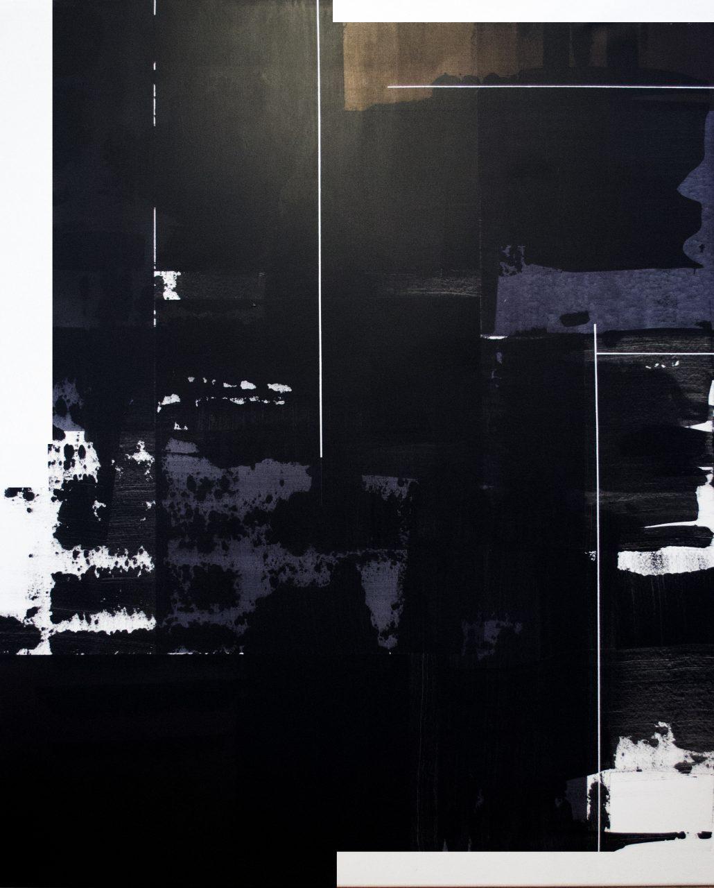 op200118. acrylic on canvas, 160x130cm | Gyula Sagi | available artwork