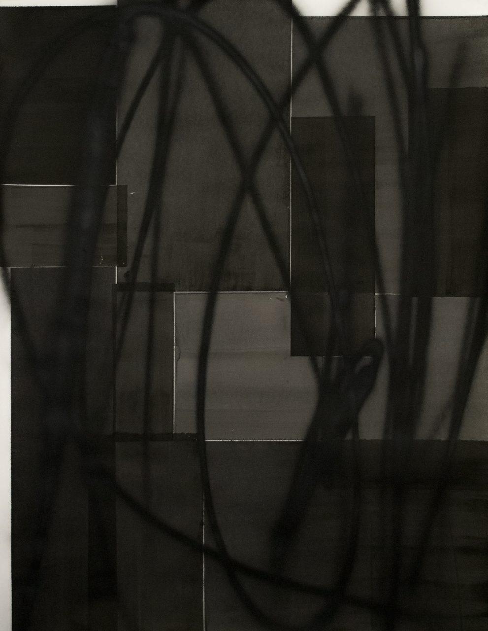 op301217 ink on paper, 150x115cm | Gyula Sagi | available artwork
