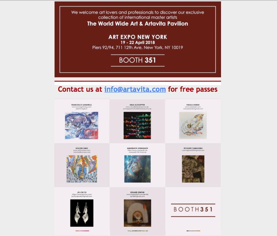 ART EXPO  New York 2018 image