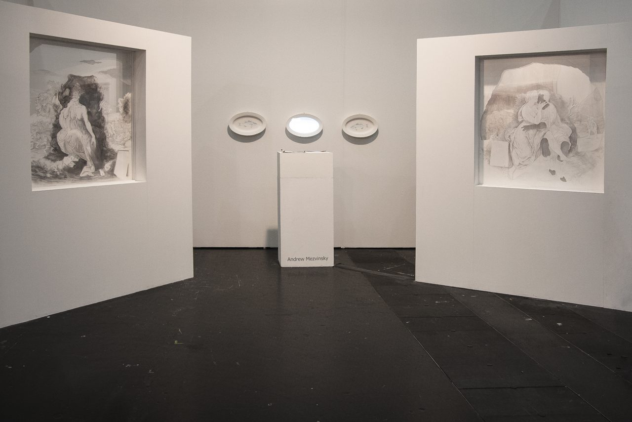 Dietro Liceo, Davante Museo, 2013 Installation view Veinna Contemporary Solo Booth
