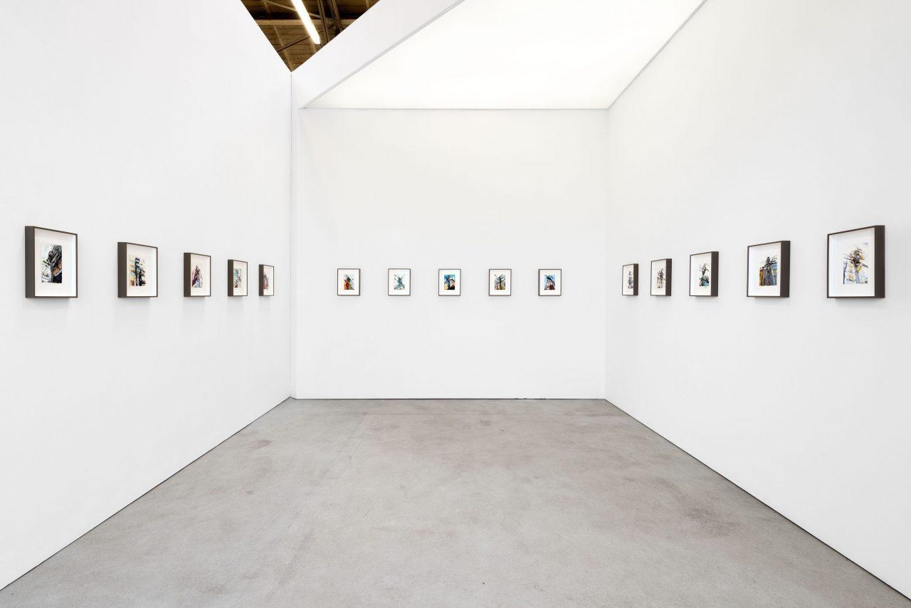 """Skyscanner"", Galerie Jochen Hempel, 2018, Leipzig (Fot. Uwe Walter)"