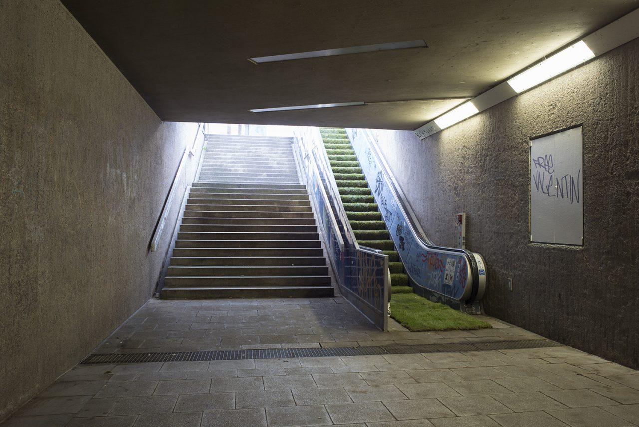 Unser Ebertplatz: Ausschreibung: Künstlerische Gestaltung der stillgelegten Rolltreppen