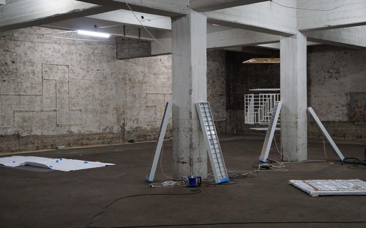 Webbing, 2015 (Install view – Studio Berlin)