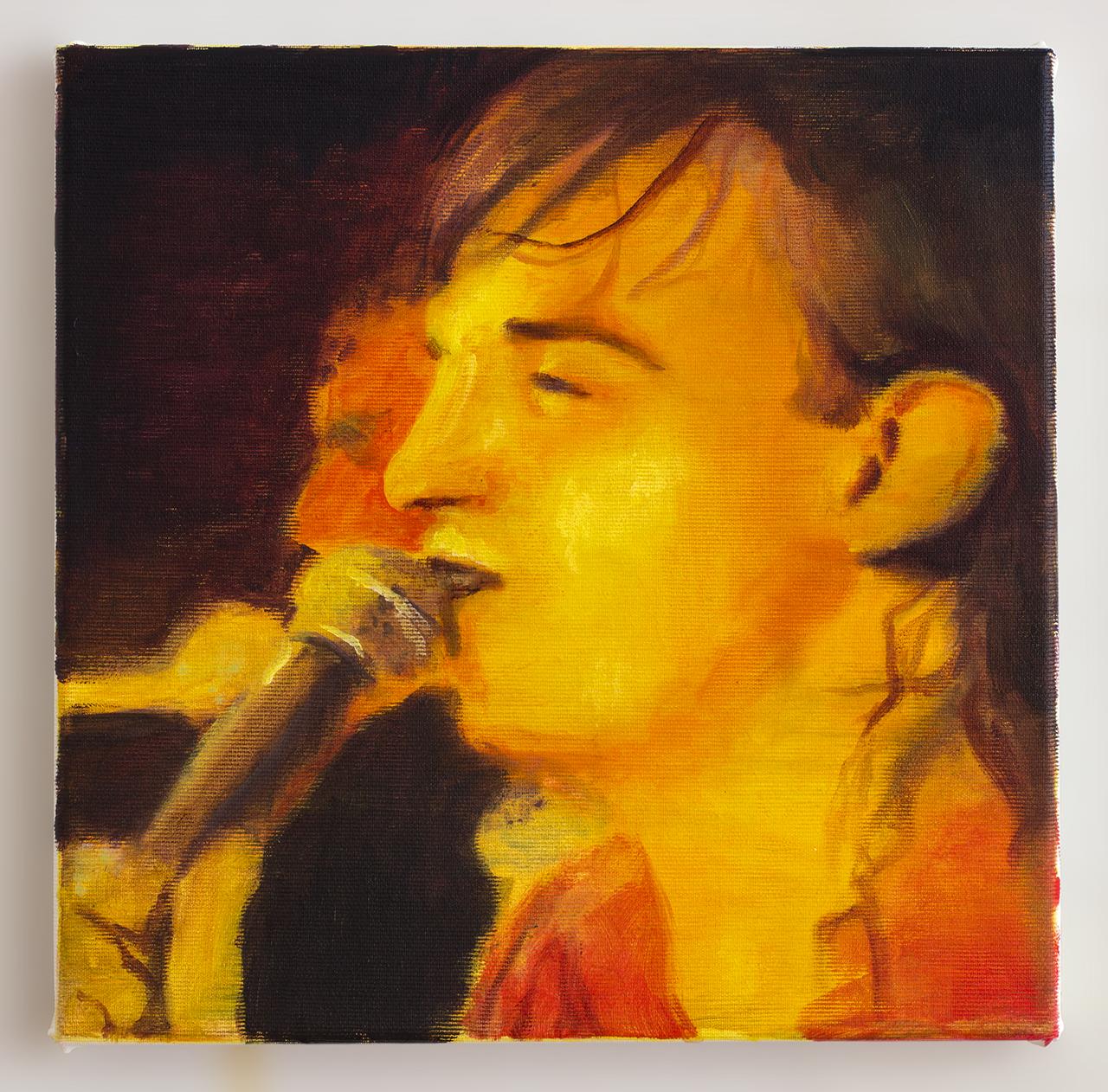 Mark 2018 -30 x 30cm, oil and acrylic on canvas