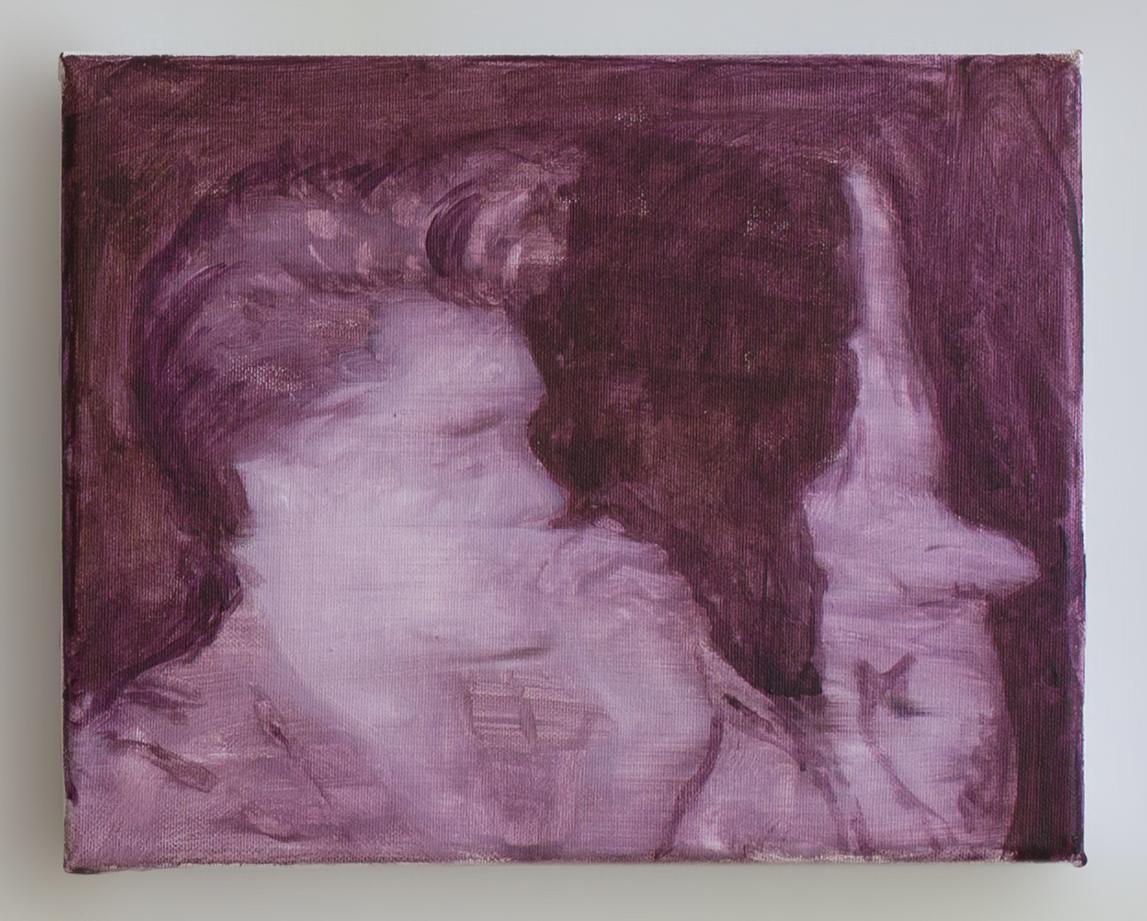 Morrisey 2018 - 24 x 30cm, acrylic on canvas
