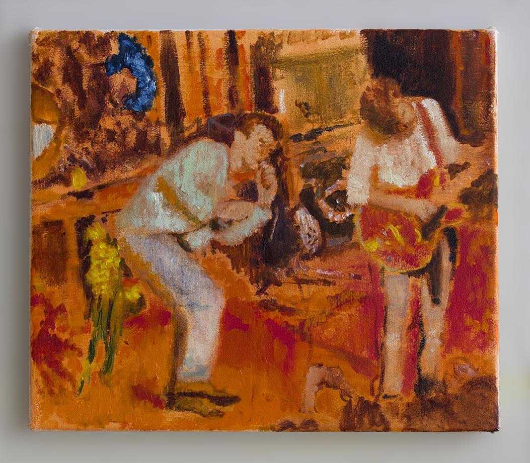 The Smiths 2018 - 30 x 35cm, oil and acrylic on canvas