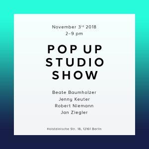POP UP STUDIO SHOW Image