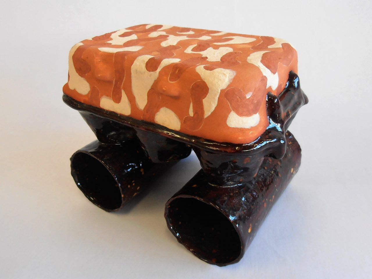 terracotta paperclay / glazed earthenware [test: safe mode]
