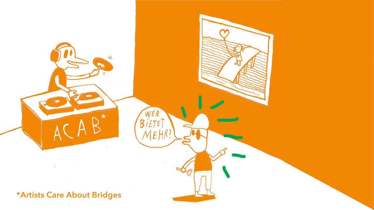 ARTISTS CARE ABOUT BRIDGES