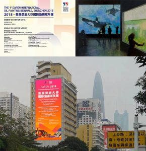 Opening-up and Integration – Participation of the 1st Shenzhen Dafen International Biennale, China Image