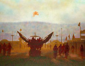 Burning Man – Electric Sky Image