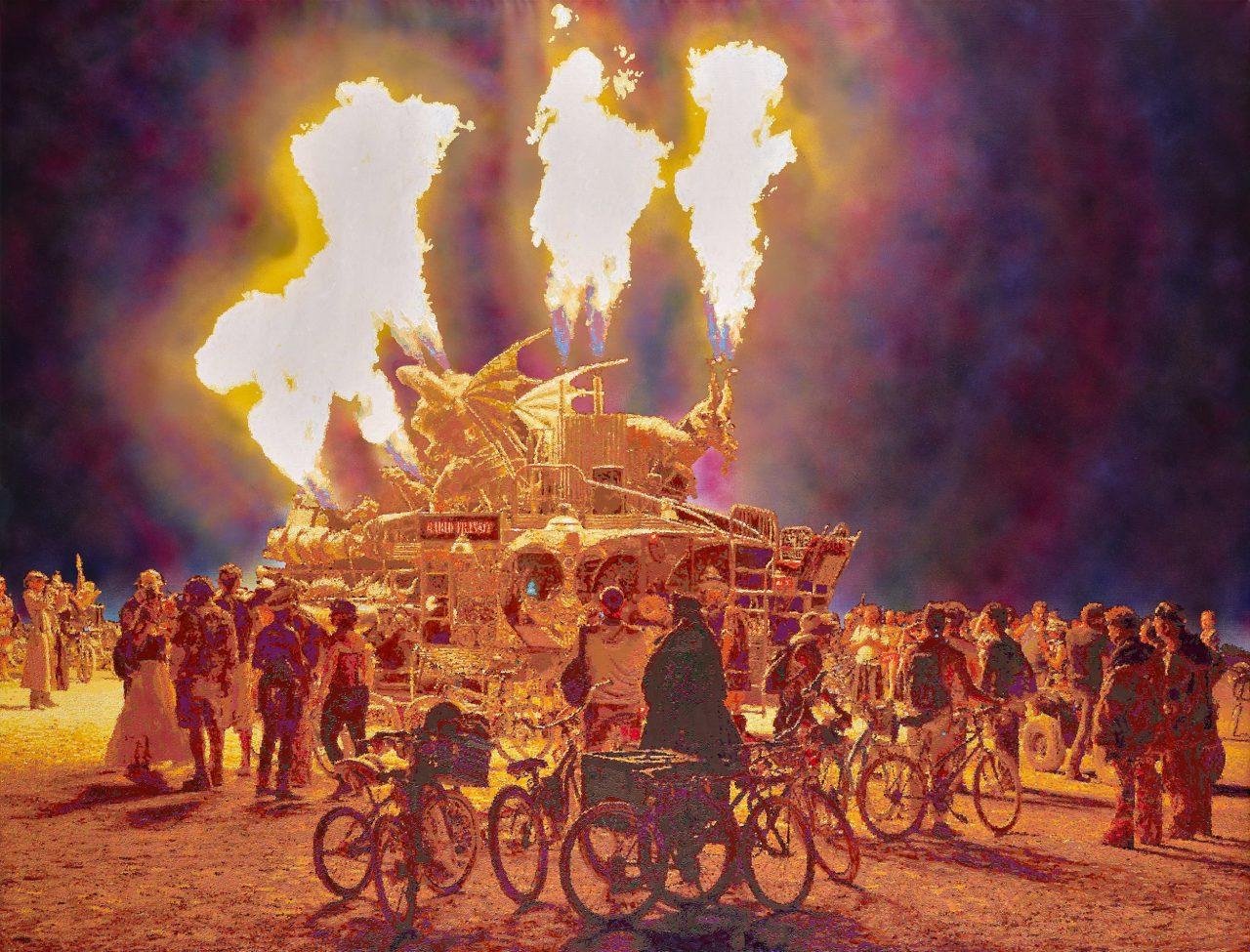 Burning Man - Electric Sky