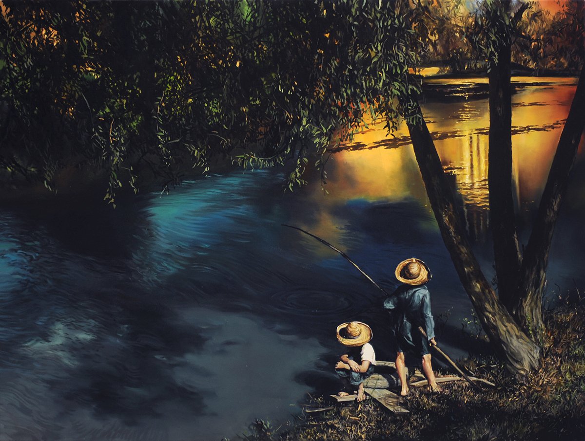 final fishing | Marcin Cienski | available artwork