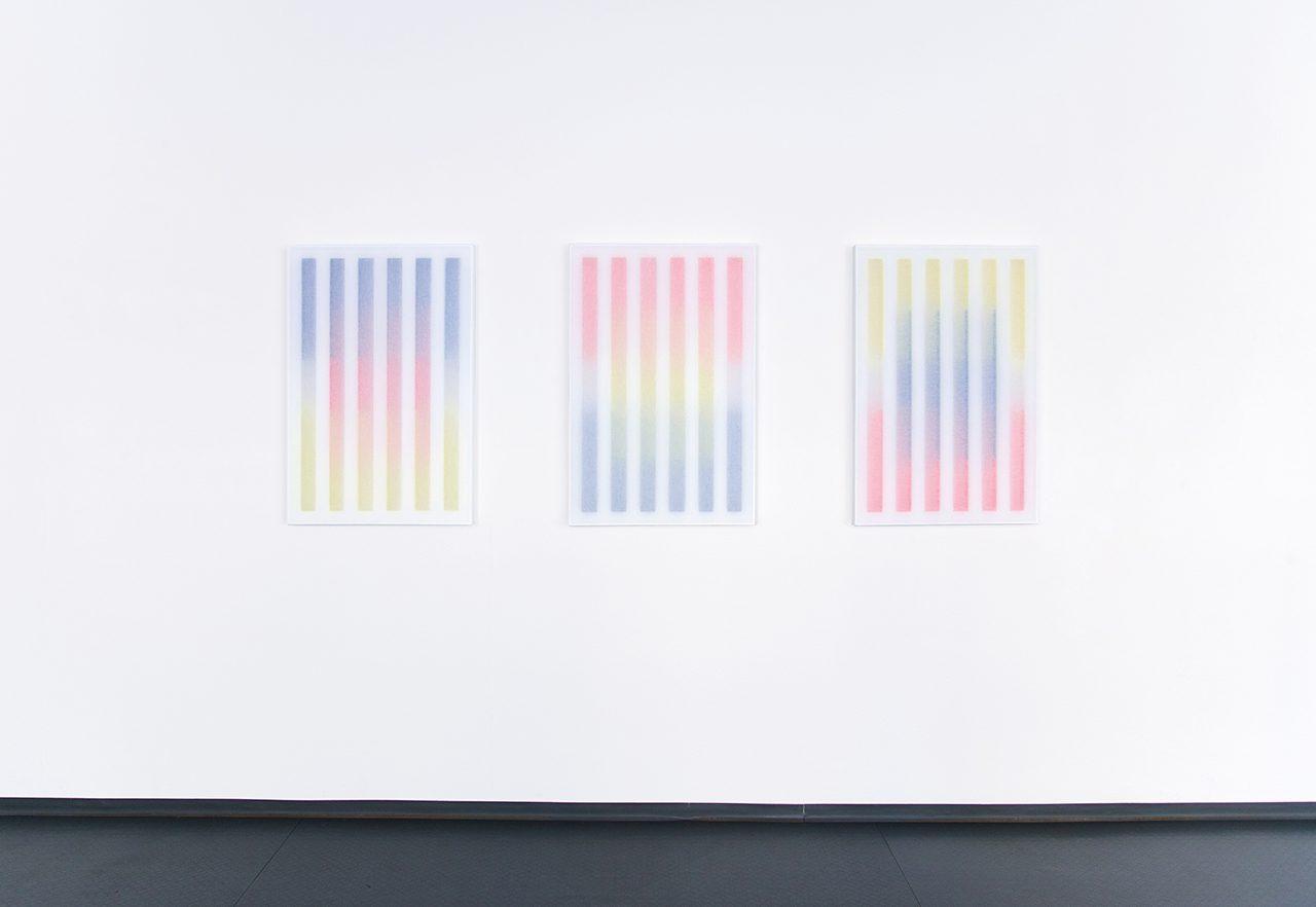 Frank Piasta und Patric Sandri, Installation view at multipleart, Zurich (CH), 2017