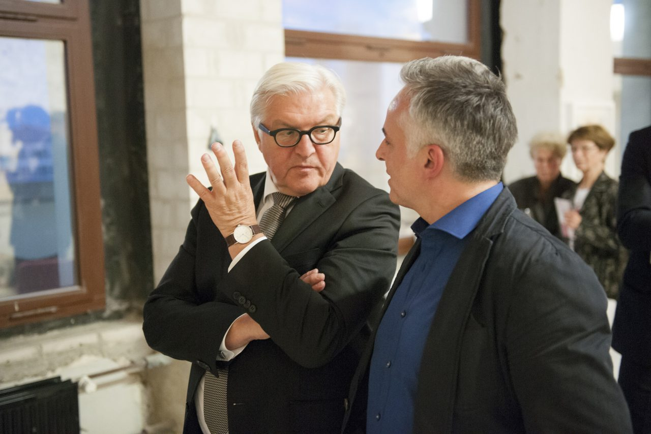 "The film ""AArtist in Residence – Detlef Waschkau in the Foreign Office"", image"