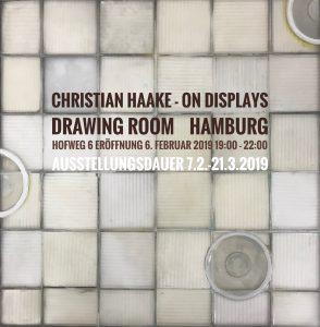 "Christian Haake Einzelausstellung ""on displays"" im drawing room Hamburg Image"