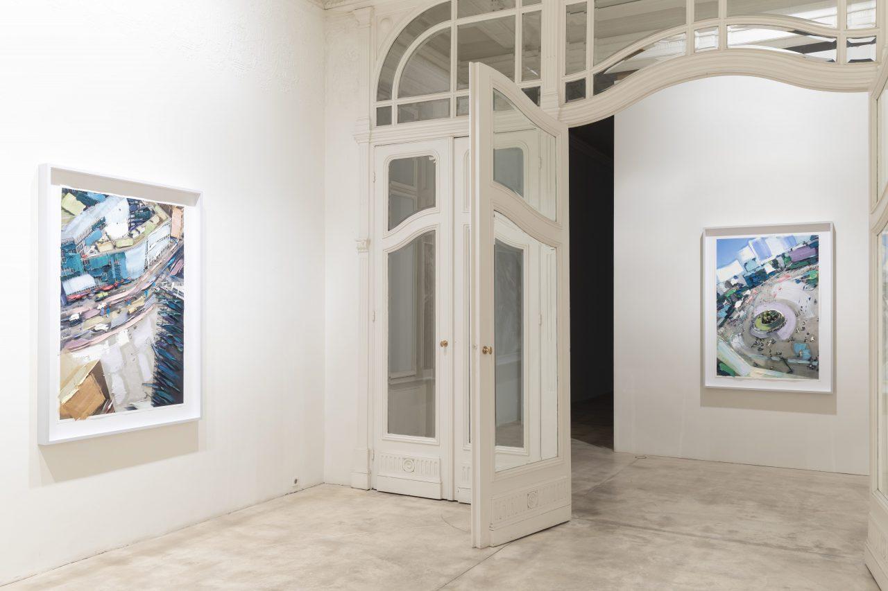 Further Up & Further In, exhibition view, Galerie Krinzinger, Vienna