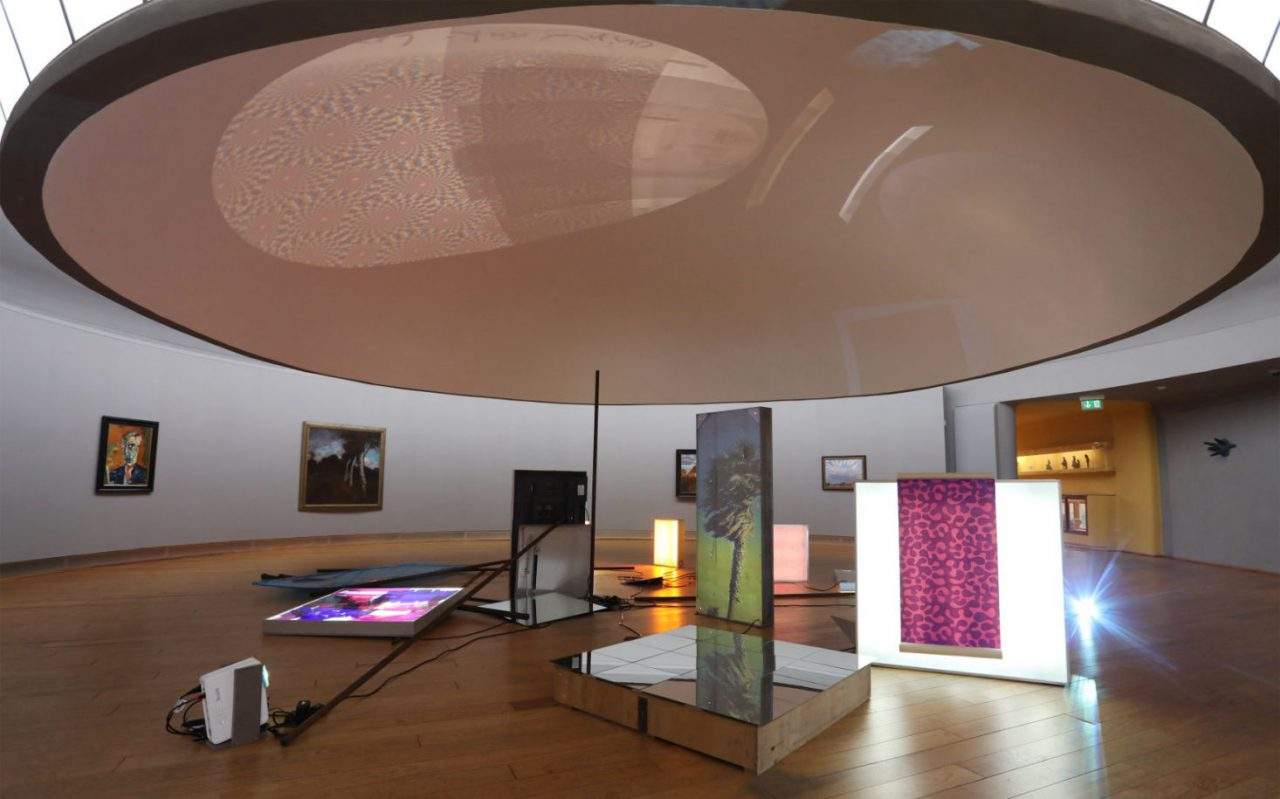 Facility Way II in der Rotunde der Großen Kunstschau in Worpswede