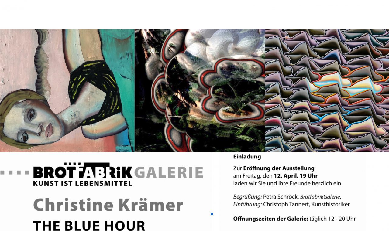"Exhibition Brotfabrik Berlin "" Blue hour"""