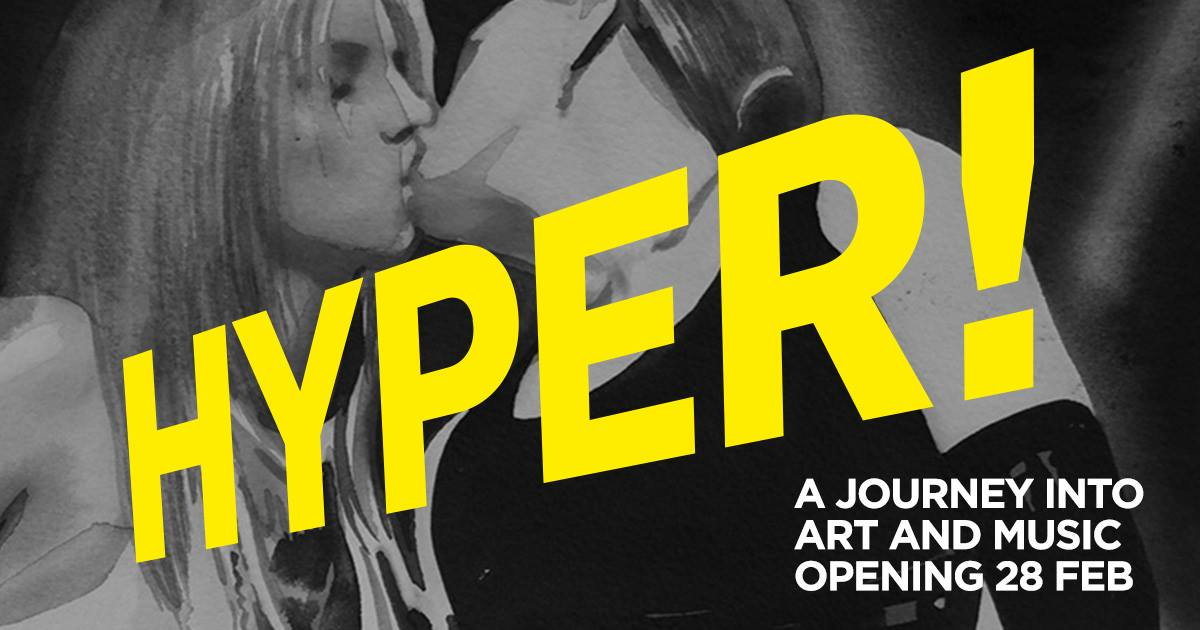 Hyper a journey into art and music