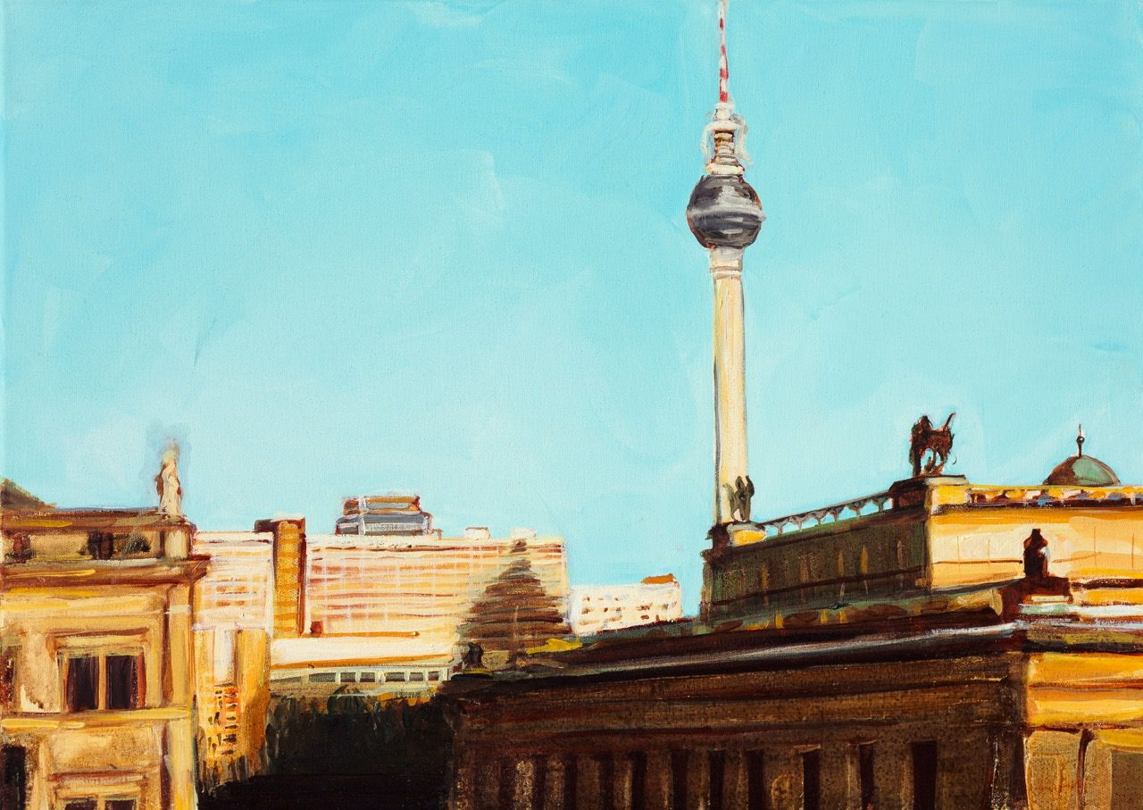 SERIE BLESSED GROUND, CFA 2011, Öl auf Leinwand, 50 x 70 cm