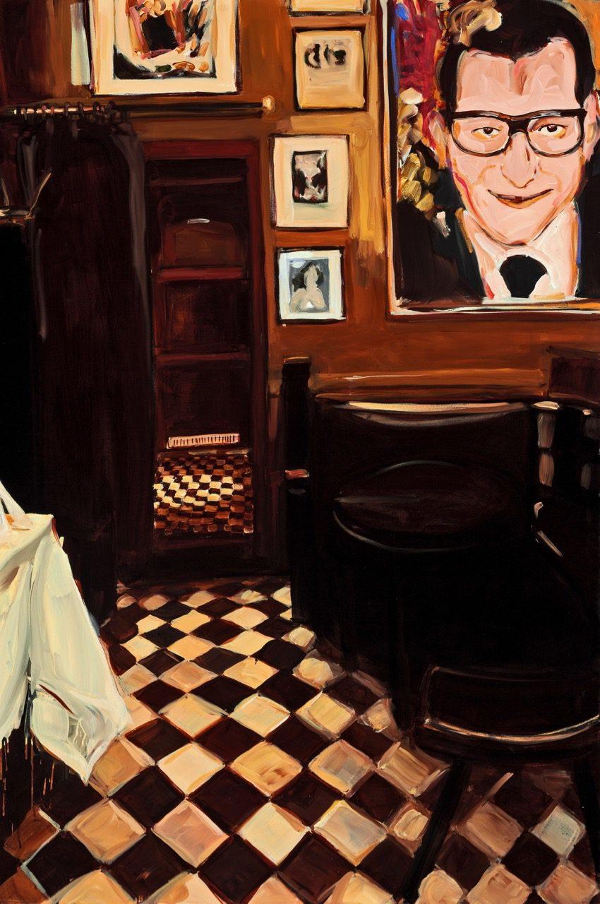 Yves, 2010, Öl auf Leinwand, 180 x 120 cm
