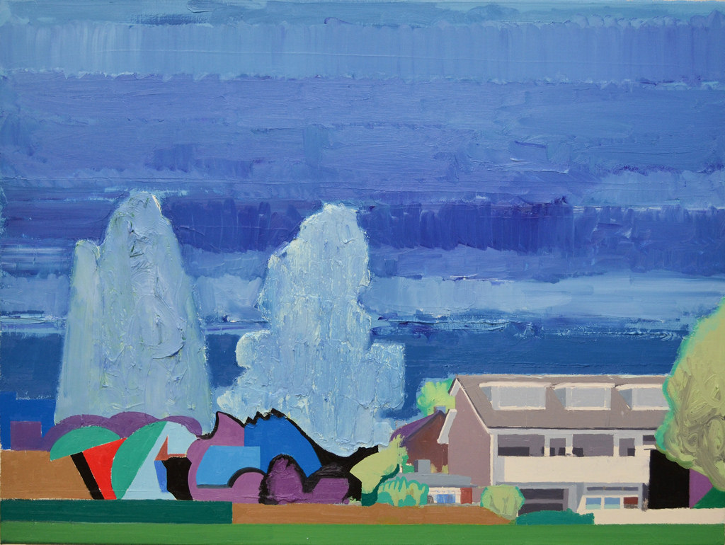 Residential Area   Albert Zwaan   available artwork