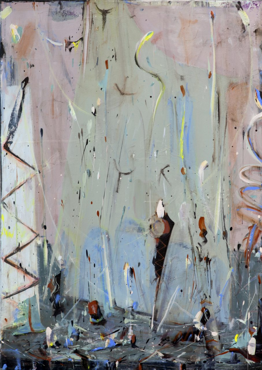 Confetti Riots4. 2016, oil on canvas 40/60 cm