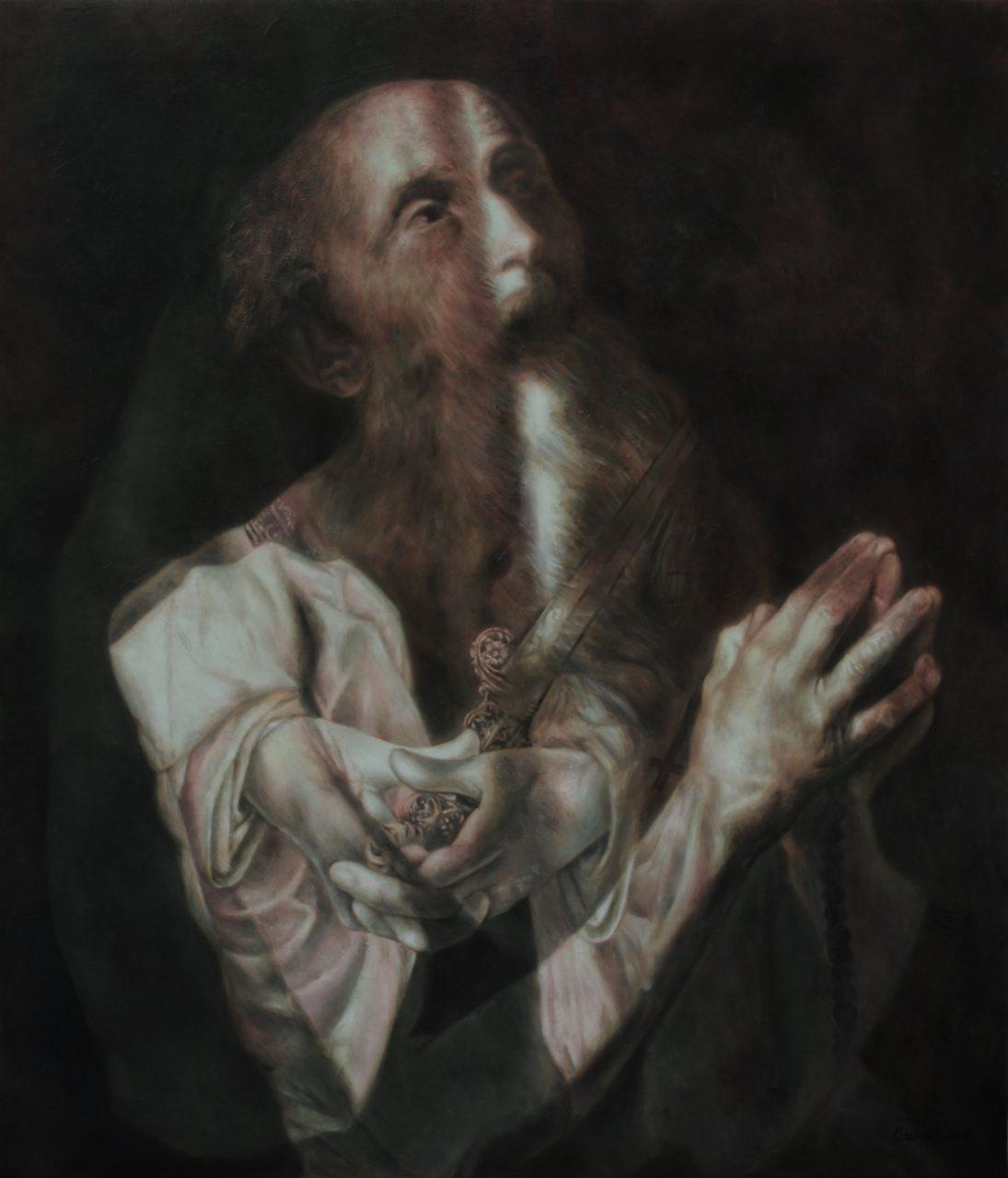 The Sinning Saint | Masha Gusova | available artwork