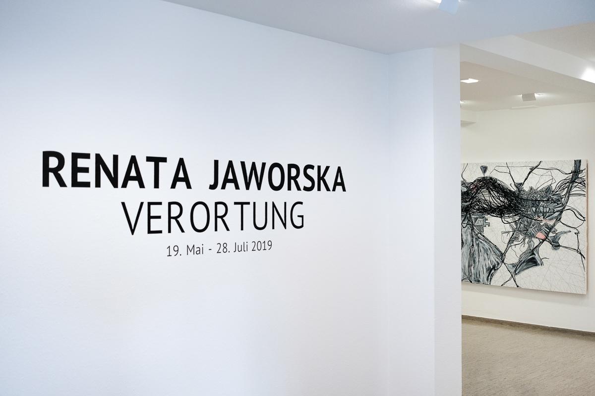 Finissage  der Ausstellung VERORTUNG – Bildpräsentation und Gespräch mit der Künstlerin Renata Jaworska