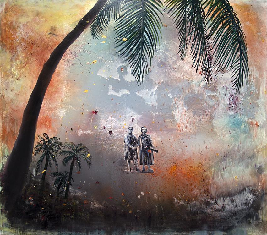 Klassik extrem, 2019, Öl/Lwd., 150 x 170