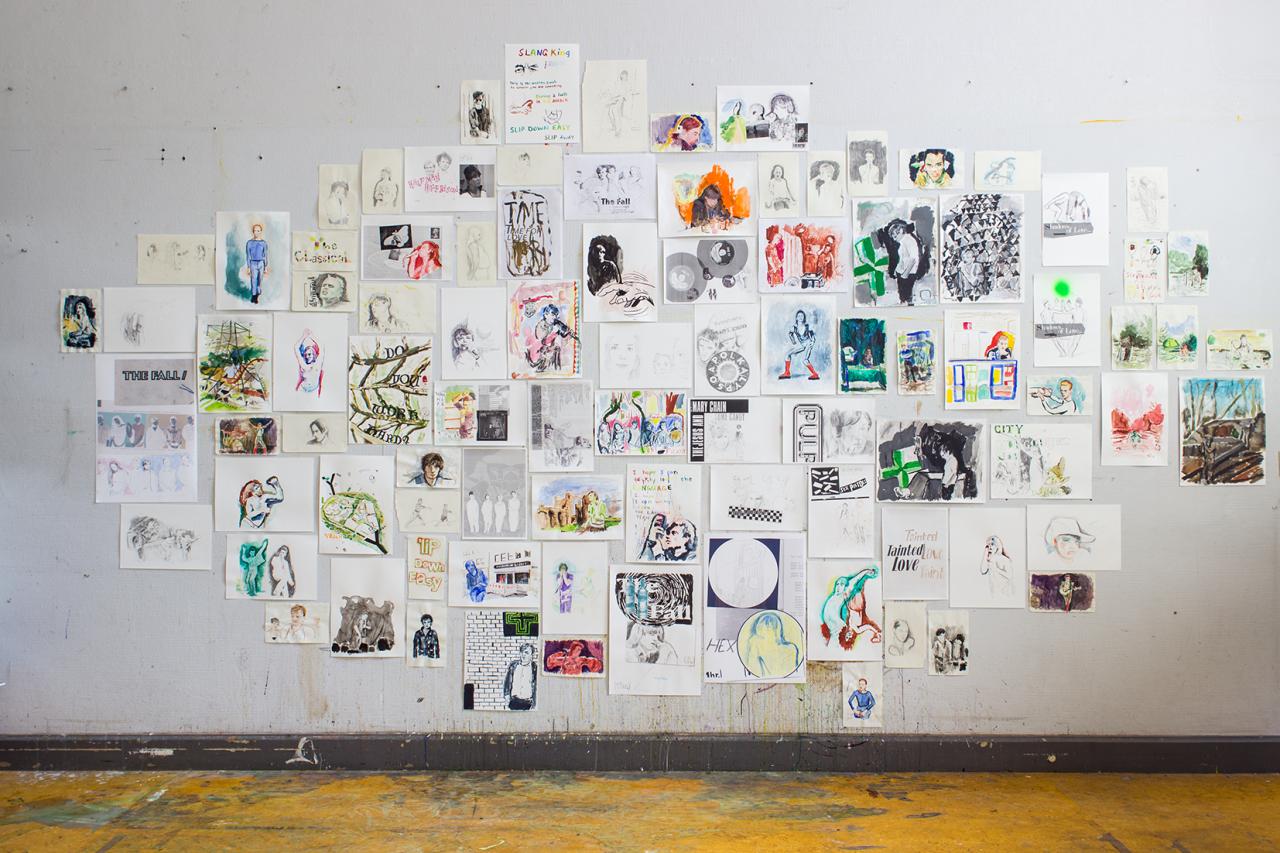 Studio drawings 2018 - 2019