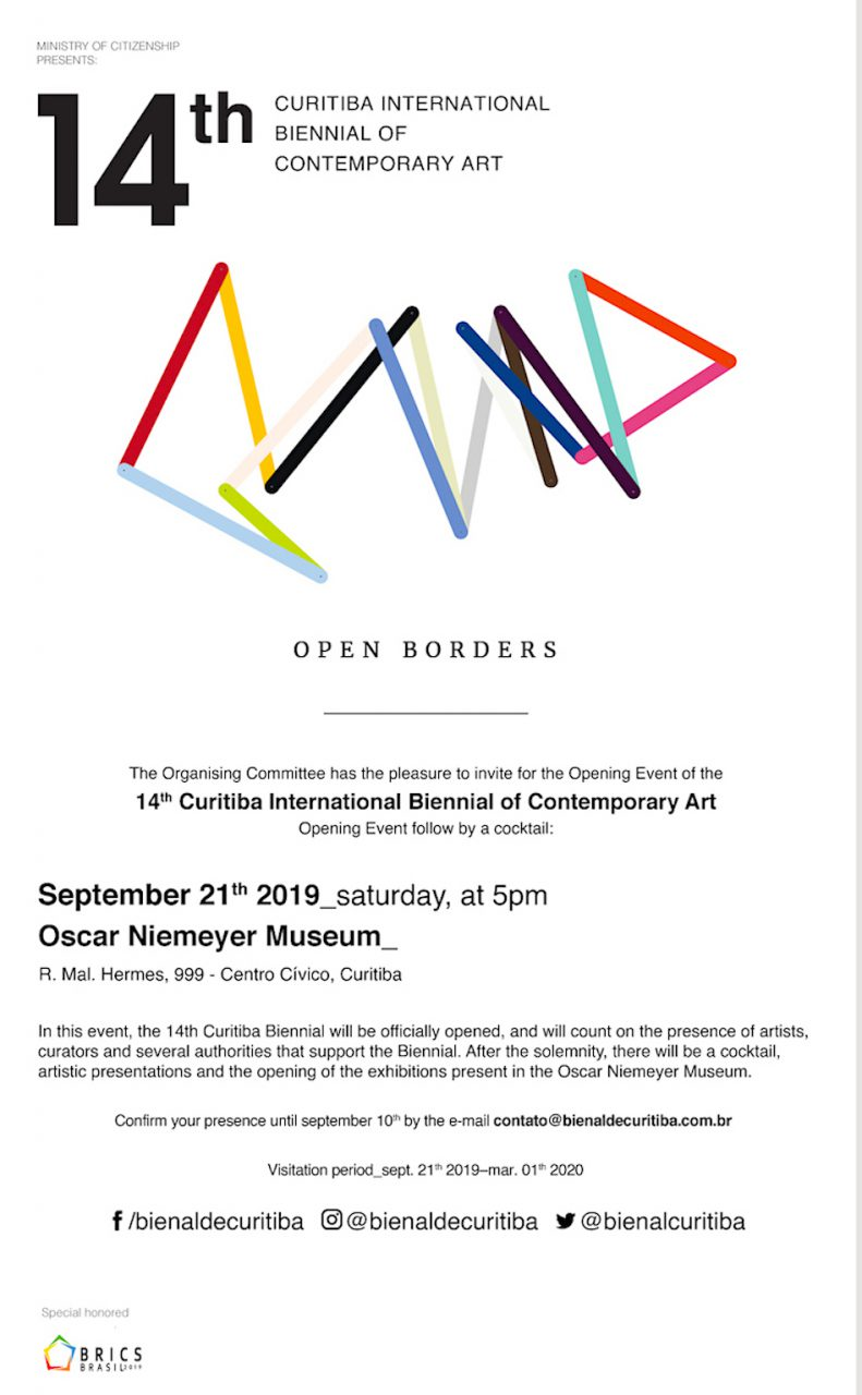 14th CURITIBA INTERNATIONAL BIENNIAL OF CONTEMPORARY ART image