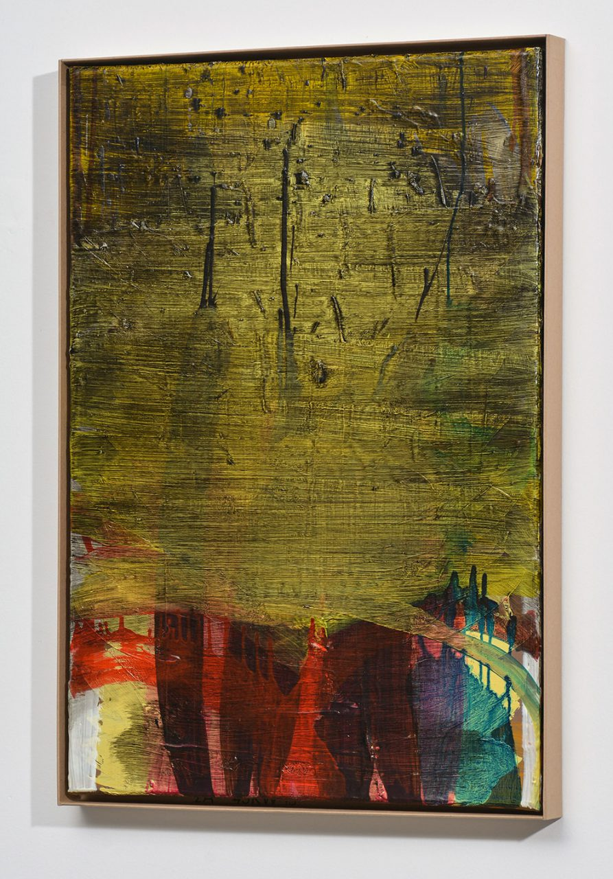 Fingernails, 2014, oil on canvas, 65X45 cm