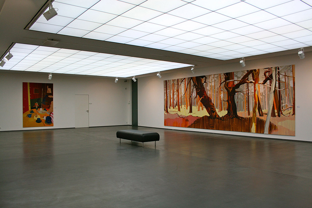 Schichten-Layers, 2009, exhibition view, Samuelis Baumgarte Galerie