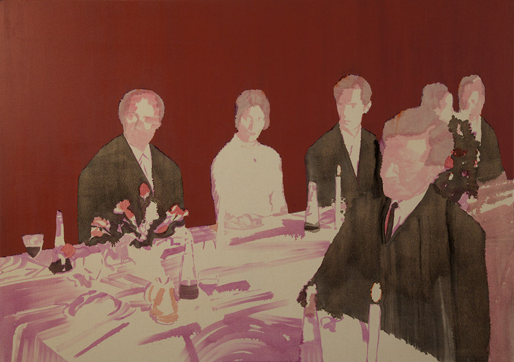Violet wedding, 2011, oil on canvas, 100X140 cm
