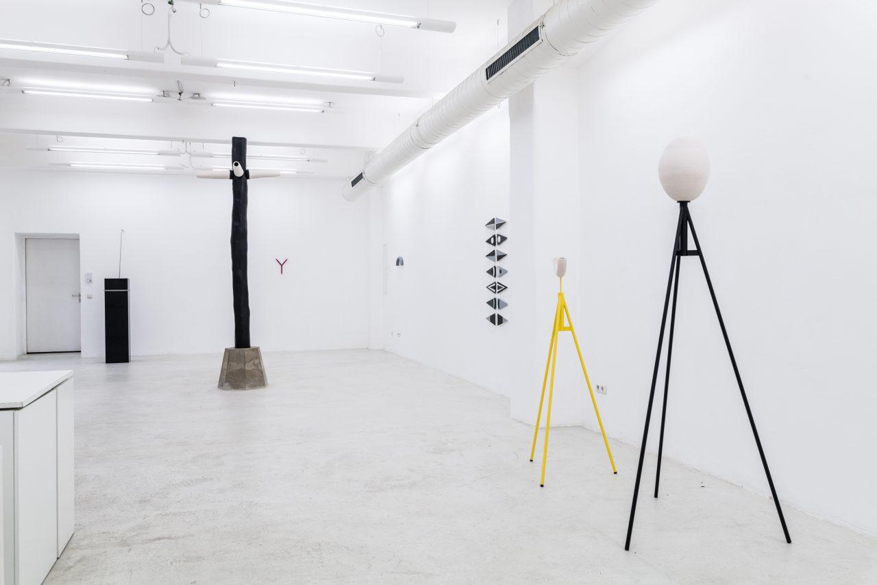 SOLITÄR I exhibition view I gallery Produzenten, Dresden, 2019