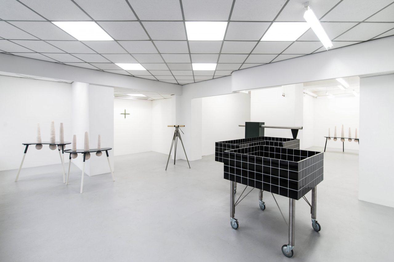Du nicht - Not you I exhibition view I gallery Ursula Walter, Dresden, 2017