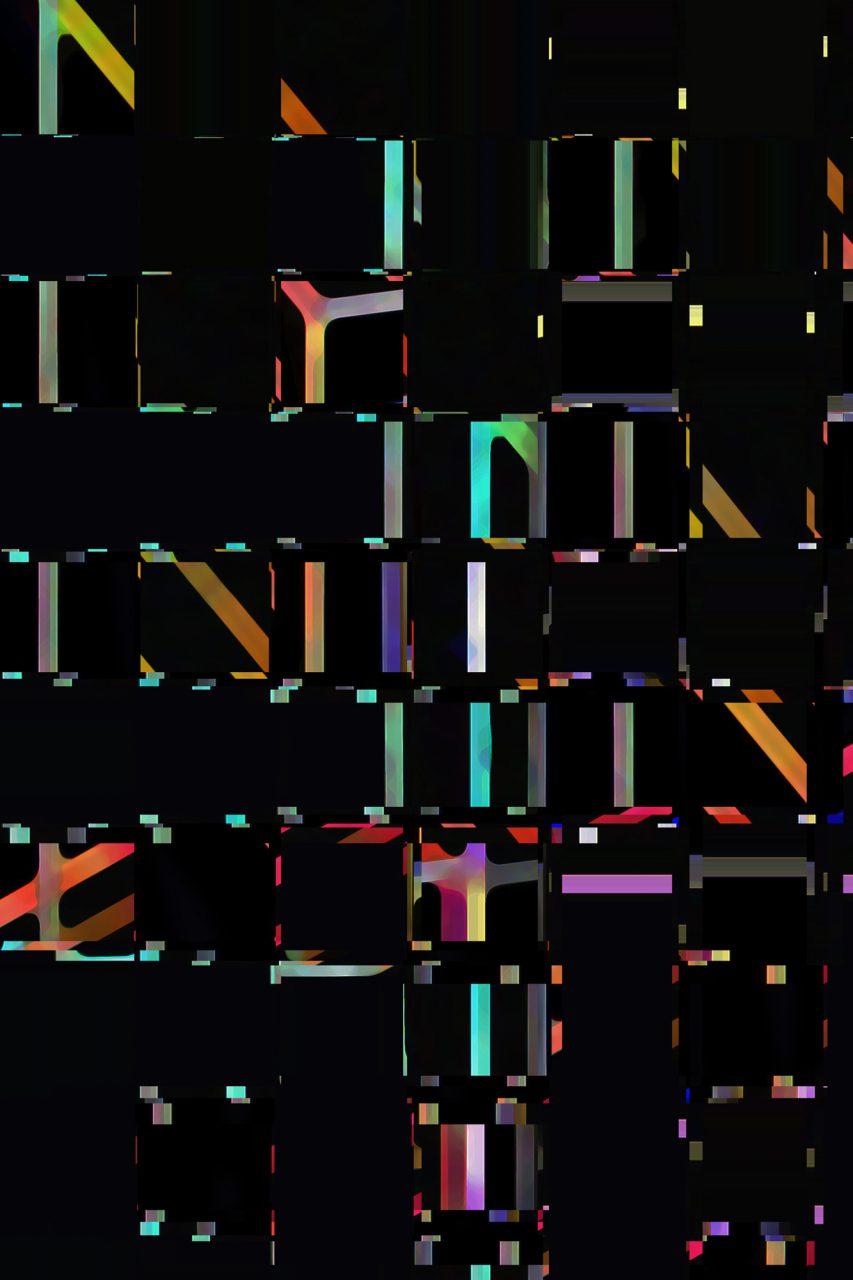 Farbmorsen, Experimental Fine Art Photography, 2017, Colorpigment on Aludibond, 40 cm x 30 cm, Unikat, Series Image Genetics, signiert